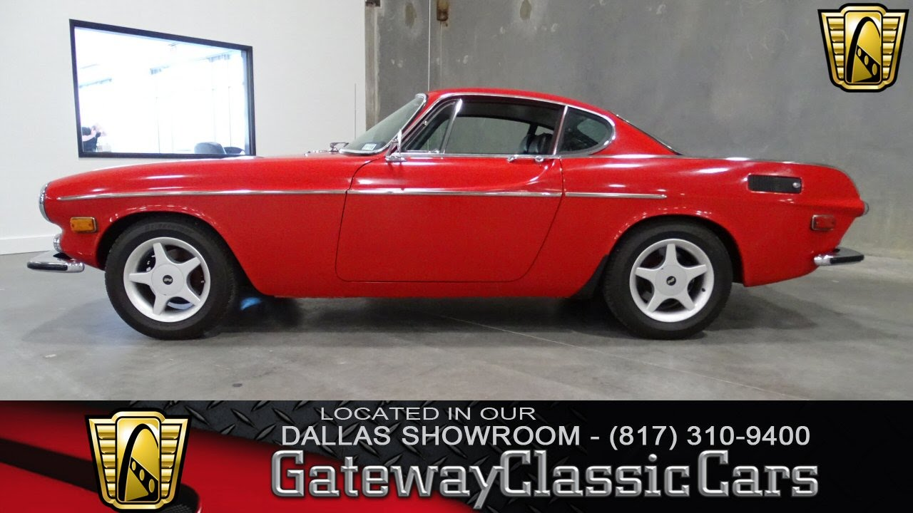 1971 Volvo 1800E Stock #8 Gateway Classic Cars Dallas Showroom - YouTube