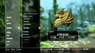 The Elder Scrolls V: Skyrim - Demo Part 1