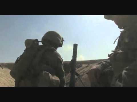 US Patrol Repels Taliban Ambush Firefight & Mortars Sangin District