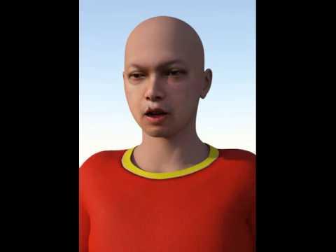 Talking CGI Character