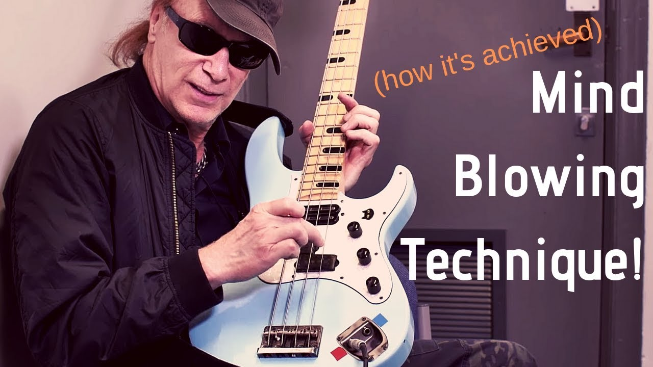 next level bass technique with billy sheehan youtube. Black Bedroom Furniture Sets. Home Design Ideas