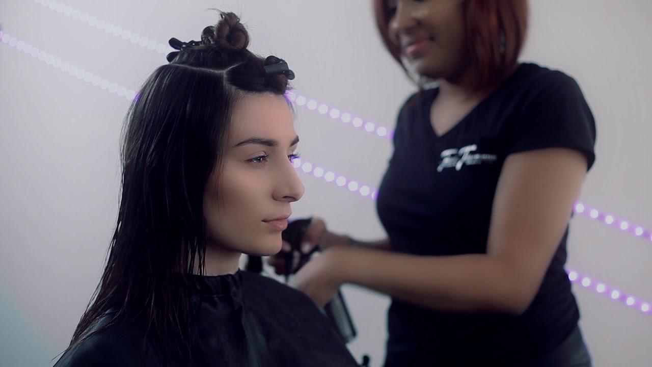 HaarschnittAnleitung Stufenschnitt mittellange Haare