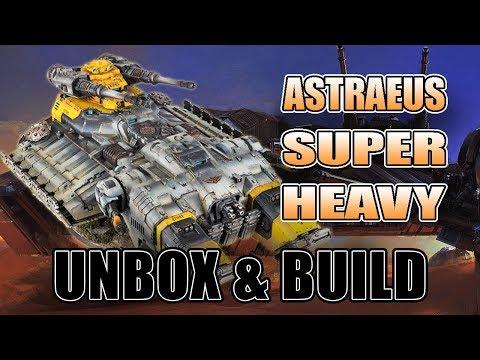Astraeus Super Heavy 40k Space Marine Tank Unbox & Build
