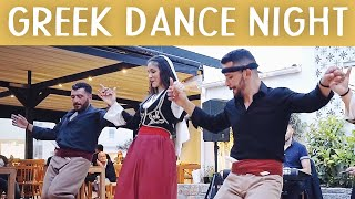 Traditional GREEK NIGHT, Cretan Dance and Live MUSIC @ KOSTAS Taverna Stalis / Daily CRETE Greece