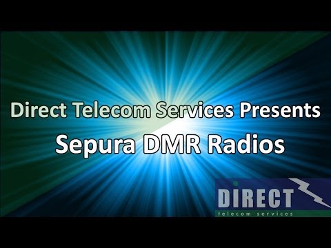 Sepura DMR Radios from Direct Telecom Services Ltd