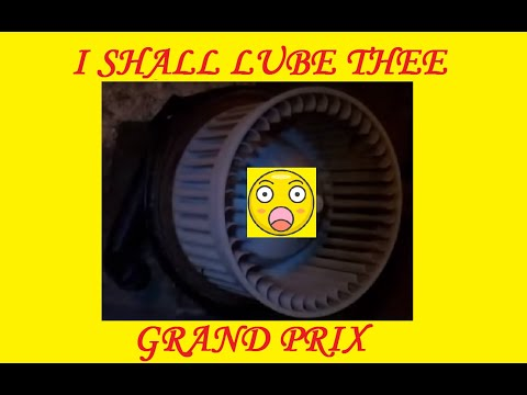 How to Repair a 1997 - 2003 Grand Prix Blower Motor (Complete Fix)