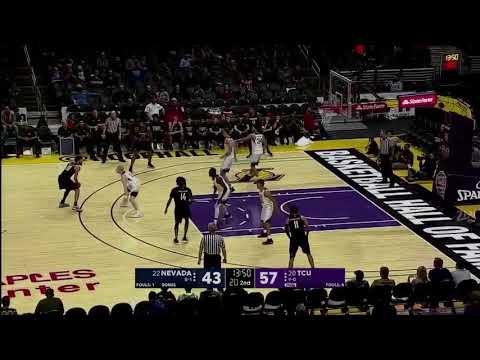 TCU vs. Nevada Men's Basketball Highlights