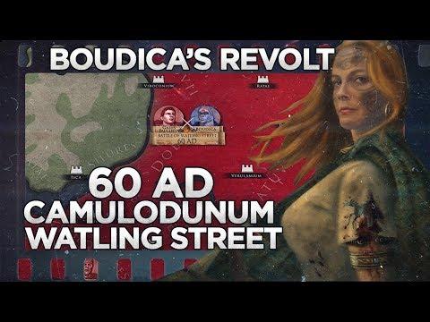 Watling Street 60 AD - Boudica's Revolt DOCUMENTARY
