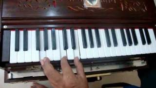 PARMESHWARI JAI DURGA - learn to play on Harmonium by Deepak Tahilramani