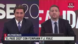 El Pase 2021 entre Eduardo Feinmann y Jonatan Viale - 25/03/2021