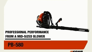 See the ECHO PB-580 mid-sized leaf blower's outstanding features.