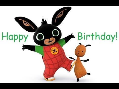 Bing Happy Birthday Song