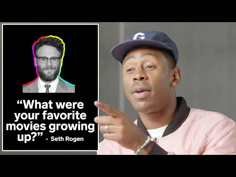 Tyler, The Creator Answers Questions From Kendall Jenner, Seth Rogen & More | GQ