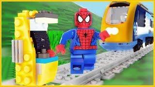 LEGO Train Spiderman Arcade Game Fail