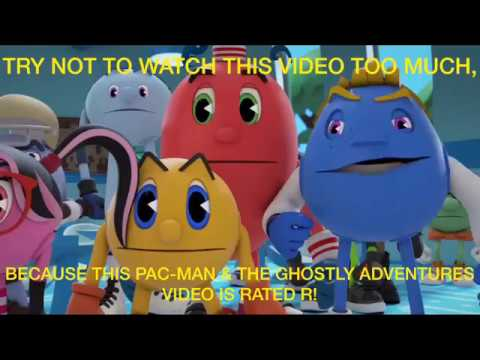 Pac-Man & The Ghostly Adventures Naked Characters