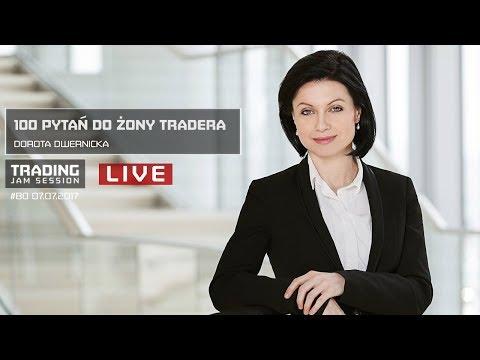 100 pytań do żony tradera,  Dorota Dwernicka, #80 Trading Jam Session