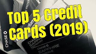 Top 5 Credit Cards (2019)