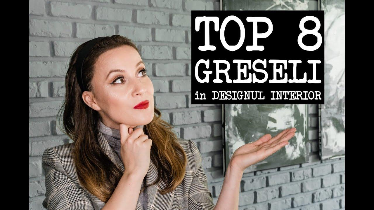 Download DESIGN INTERIOR   Cele mai intalnite 8 GRESELI in AMENAJARILE INTERIOARE