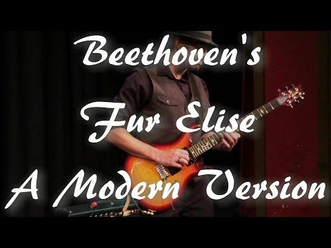 Beethoven's Fur Elise - A Modern Version (guitar, bass, drums)
