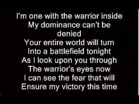 Disturbed Warrior Lyrics
