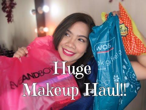 Bangkok Drugstore Makeup Haul : Eveandboy, Watson, Platinum Mall | Jihan Putri