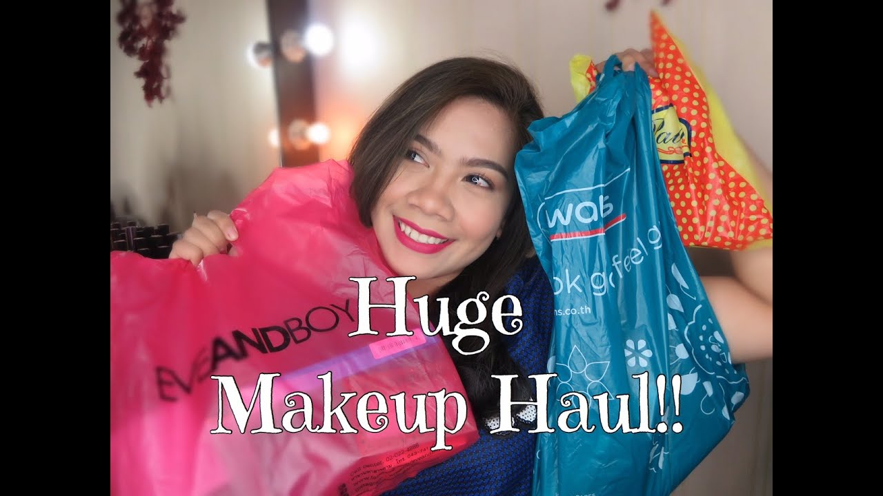 5bd2cbfee84 Bangkok Drugstore Makeup Haul : Eveandboy, Watson, Platinum Mall | Jihan  Putri
