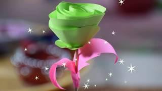 DIY Valentine's day Gift- Homemade Valentine's rose - DIY valentine's Paper craft ideas