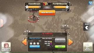 CH vs FOH - CH th9 attacks