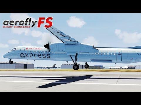 AeroFly FS 2 - Air Canada Dash 8 Q400 (Quick Fly Series)