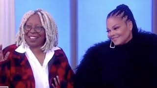 Janet Jackson surprises Whoopi Goldberg on the view with tickets to her concert| TEALOG