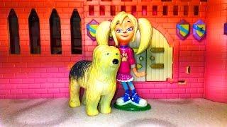 Как девочки играют в куклы! Принцесса Роза Барбоскина. Это детское видео снято детьми для детей!0+