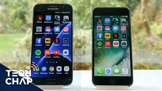 iPhone 7 vs Galaxy S7 Speed Test - Which is Faster?