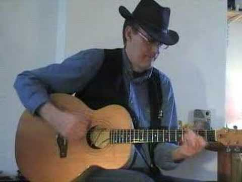 MALCOLM HINE - vid 02 - Opus on the Hine Acoustic.
