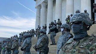 Вашингтон превратился в военный лагерь. США готовится к инаугурации Байдена
