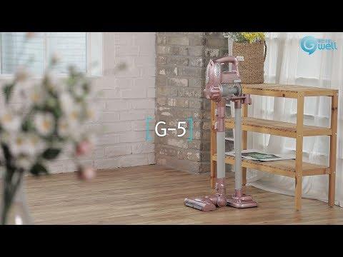 [좋은생활지웰] 지웰 G5 무선 핸디 진공 청소기 사용법영상