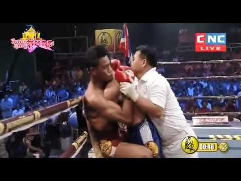 Thoeun Theara vs Kamlaiphet Sanchai (Thai) CNC Khmer Boxing 30/09/2018