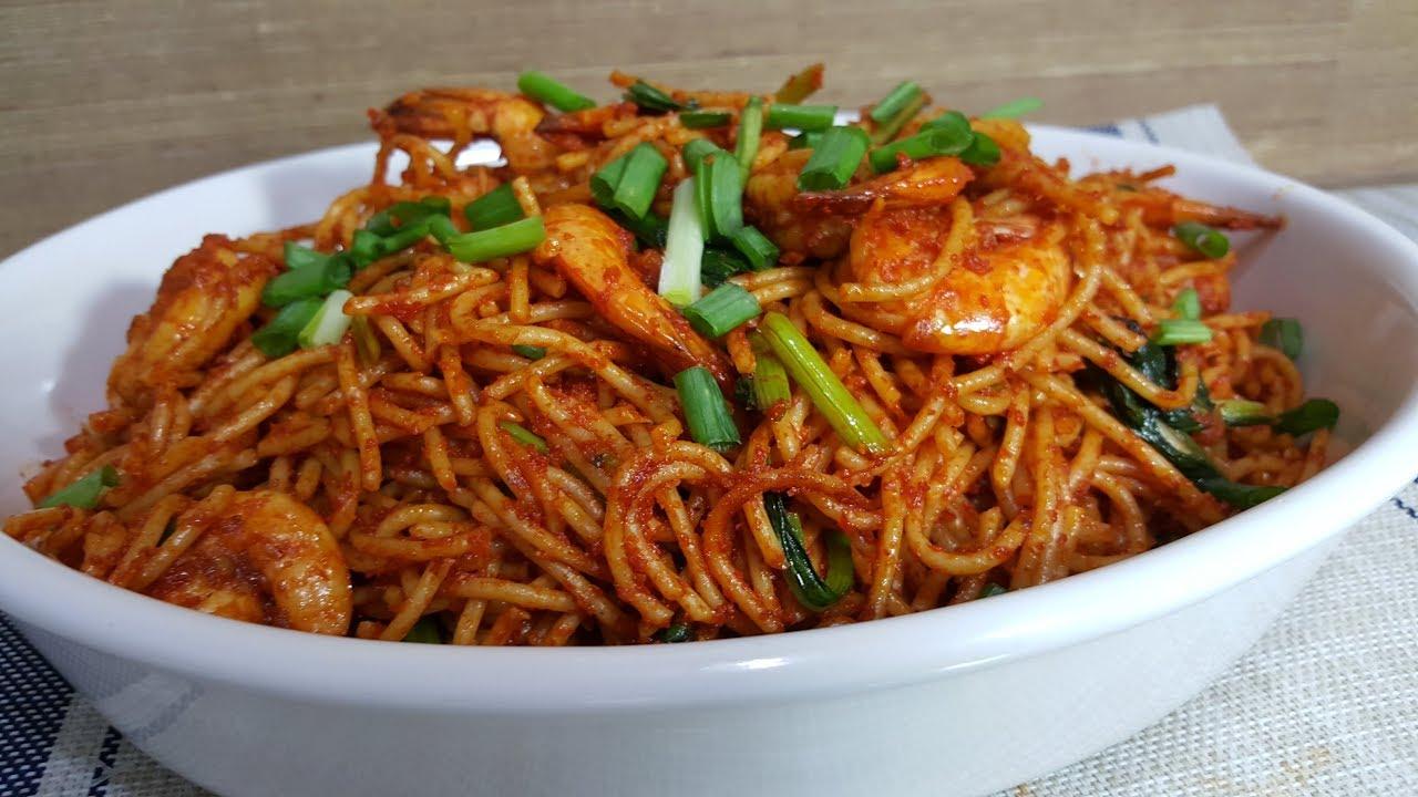 Spaghetti Goreng Youtube