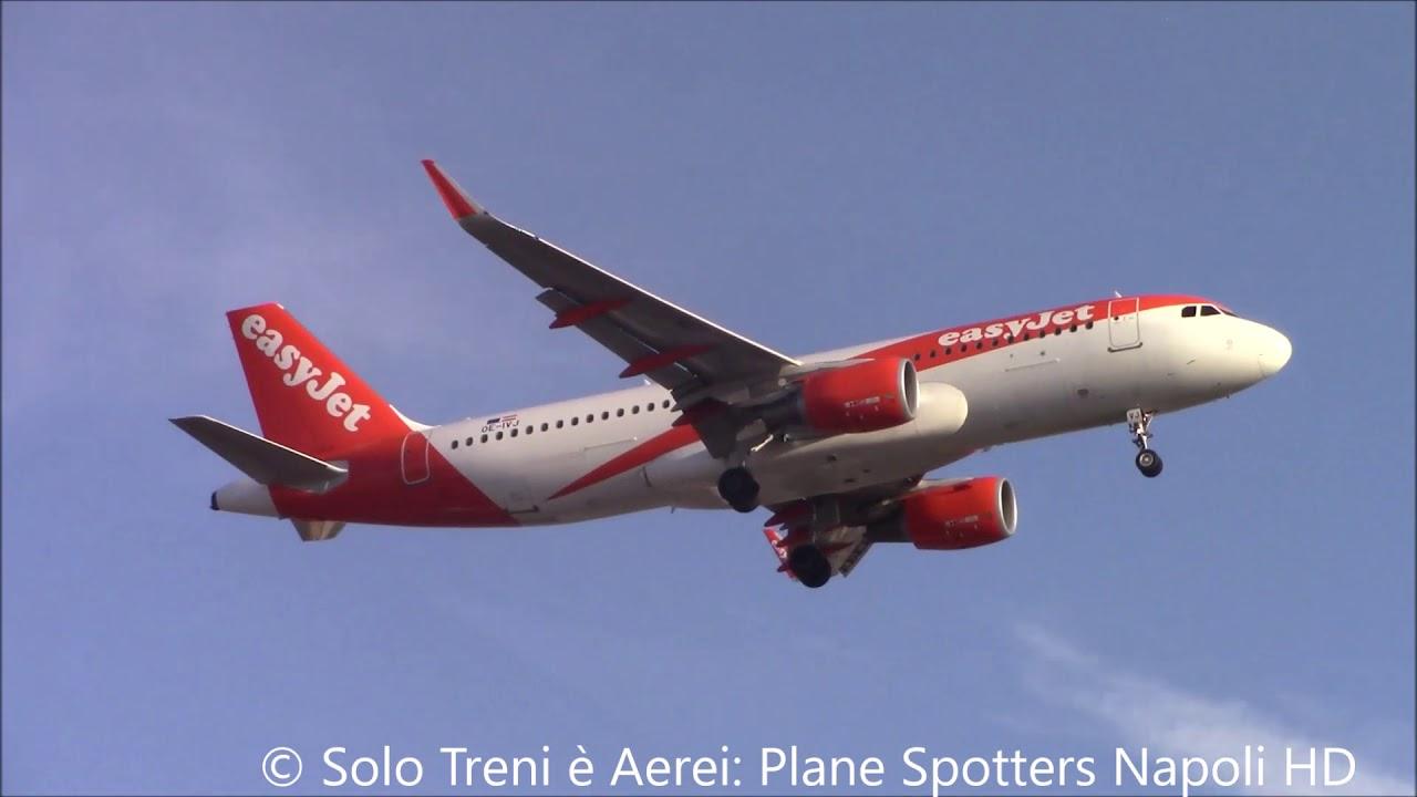 Plane Spotters Napoli Various landings in Naples Capodichino HD  RWY24 05/03/2020