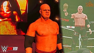 WWE 2K19: Kane 2007 (Bald/Barbed Wire Tights Attire w/ Slow Chemical Theme Song & Titantron) - PC