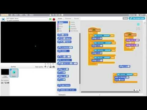 Scratch Programming - How to build an etch-a-sketch drawing program