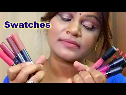 me-now-kiss-proof-lip-crayon-&-generation-ii-lip-gloss -lip-swatches- -sidankibeauty