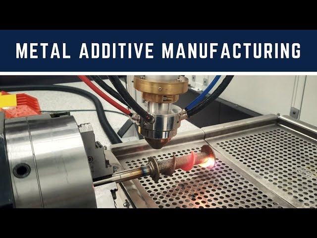 Laser Additive Manufacturing Demo | Spiral Auger & Flange Construction