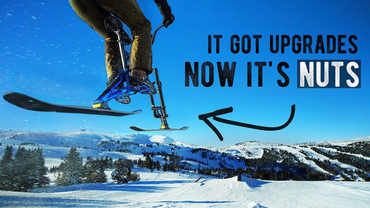 Download Upgrading and shredding a... Ski Bike? (IT'S TOO FAST)