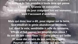 À Lamennais - Auguste Lacaussade lu par Yvon Jean