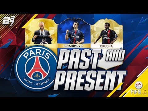 PAST AND PRESENT PSG SQUAD BUILDER! | FIFA 16