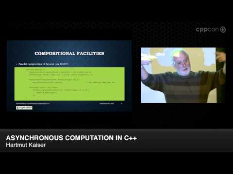 "CppCon 2014: Hartmut Kaiser ""Asynchronous Computation in C++"""