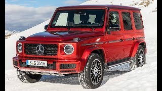 2019 Mercedes G-Class G 350d 4MATIC Snow Driving, Design and Interior