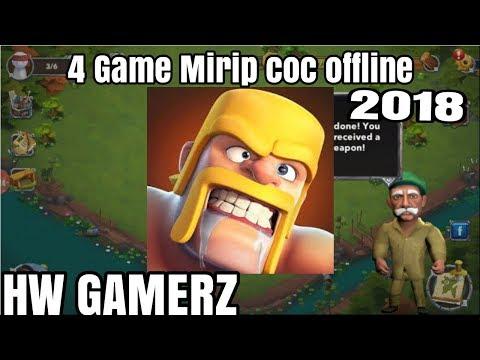 4 Game Mirip Coc Offline Terbaru 2018-HW GAMERZ-