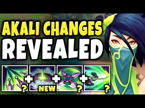 NEW AKALI CHANGES REVEALED | IRELIA REWORK INCOMING!!! PRE-SEASON 9 CHANGES! - League of Legends