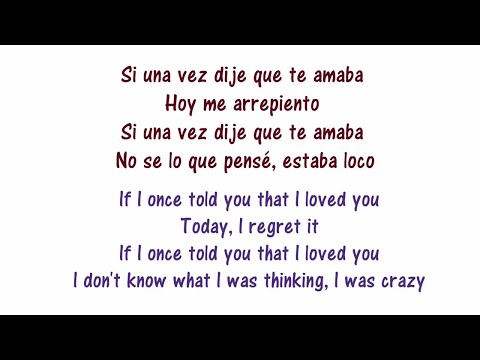 Si Una Vez - Lyrics English and Spanish - Play N Skillz, Wisin, Leslie Grace, Frankie J - (Selena)